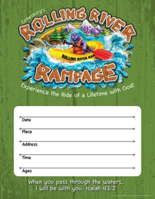 Rolling River Rampage: Small Promotional Posters (Pkg of 2)  -