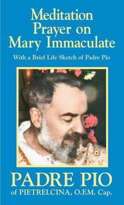 Meditation Prayer on Mary Immaculate - eBook  -