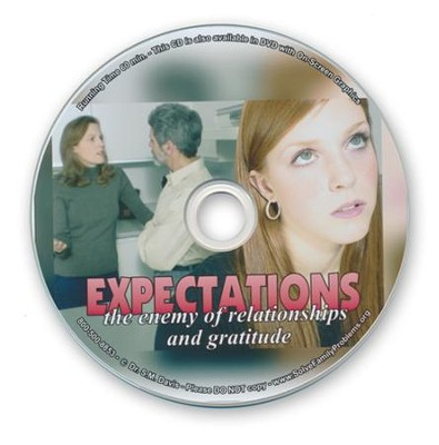 Expectations: The Enemy of Relationships & Gratitude Audio CD  -     By: Dr. S.M. Davis