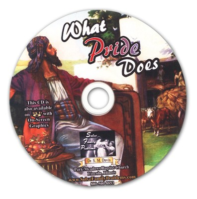 What Pride Does Audio CD  -     By: Dr. S.M. Davis