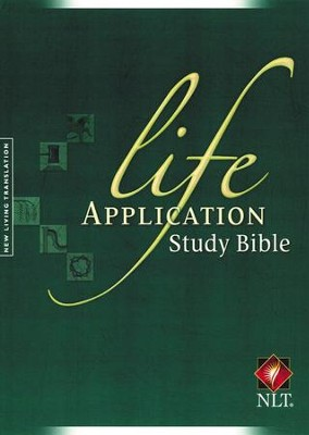NLT Life Application Study Bible - Updated Edition Hardcover - Slightly Imperfect  -