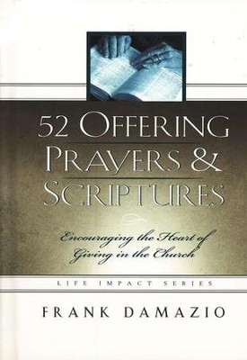 52 Offering Prayers & Scriptures and Denominations  -     By: Frank Damazio