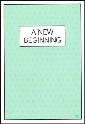 A New Beginning Raindrops - pamphlet - pack of 10   -