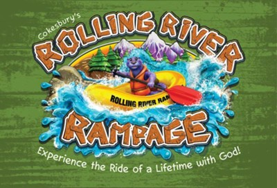 Rolling River Rampage: Thank You Postcards (Pkg of 24)  -