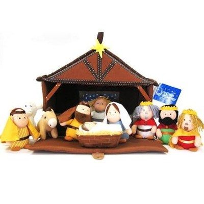 Plush Nativity Play Set   -