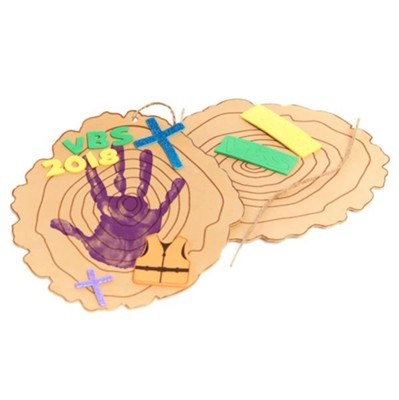 Rolling River Rampage: Handprint Preschool Craft Kit (Pkg of 12)  -