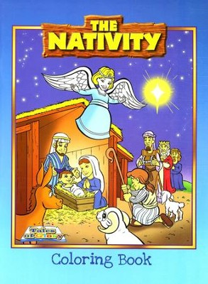 The Nativity Coloring Book