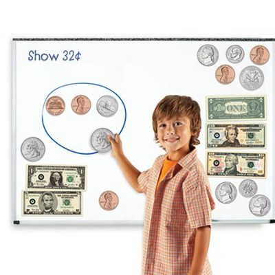 Double-Sided Magnetic Money, 45 pieces  -