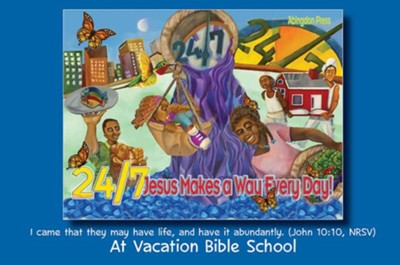 24/7 VBS: Invitation Postcards, pkg of 24  -