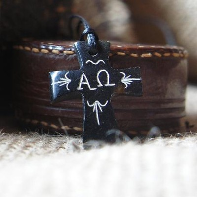 Alpha And Omega Cross Necklace Christianbook