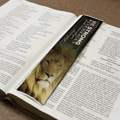 Joshua 1:9 Carpet Bookmark                     -