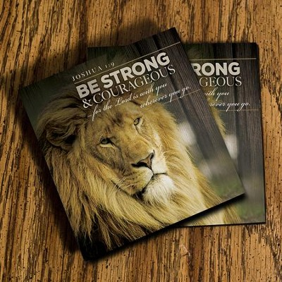 Be Strong & Courageous, Joshua 1:9 Coasters, Set of 2  -