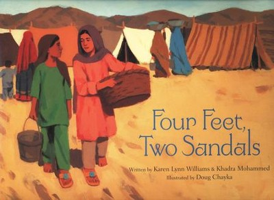 Four Feet, Two Sandals   -     By: Karen Lynn Williams