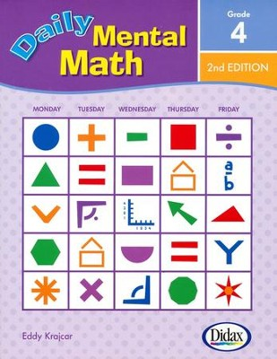 Daily Mental Math 4, 2nd Edition   -     By: Eddy Krajcar