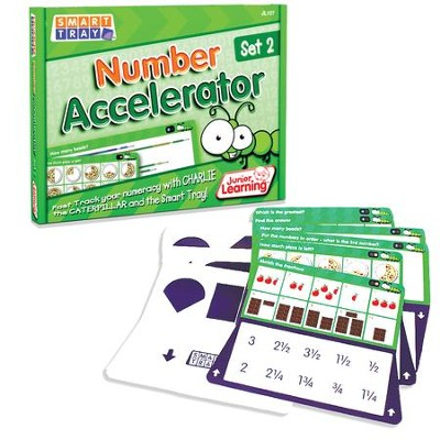 Smart Tray Number Accelerator Cards Set 2   -     By: Duncan Milne