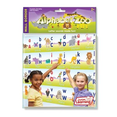 Alphabet Zoo Wall Border   -     By: Duncan Milne