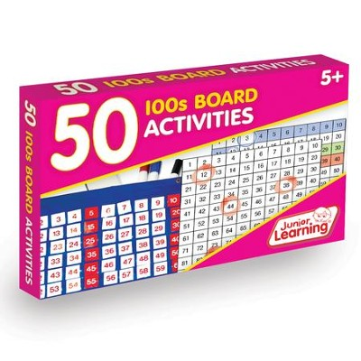 50 100s Board Activities (set of 50 cards)   -     By: Duncan Milne
