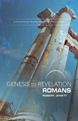 Romans, Participant Book (Genesis to Revelation Series)   -     By: Robert Jewett