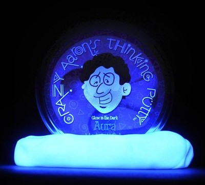 Aura, Glow-In-the-Dark Thinking Putty  -