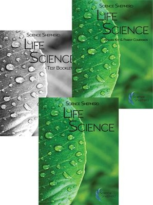 Science Shepherd Life Science 3 Book Set (Textbook, Test Book, and Answer Key)  -     By: Scott Hardin