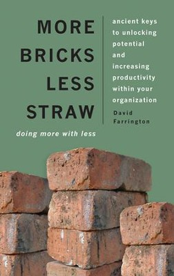 More Bricks Less Straw: Doing More with Less - Ancient Keys to Unlocking Potential and Increasing Productivity Within Your Organization  -     By: David Farrington