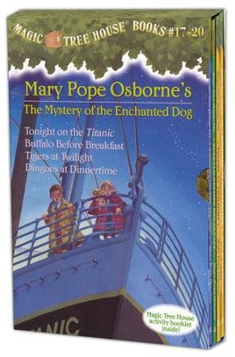 Magic Tree House: Books 17-20 Boxed Set  -     By: Mary Pope Osborne     Illustrated By: Sal Murdocca
