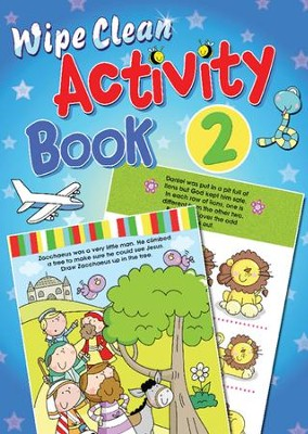 Wipe Clean Activity Book 2  -     By: Juliet David