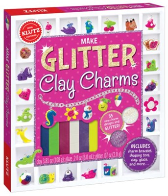 Glitter Clay Charms  -     By: Linda Olbourne