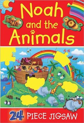Noah and the Animals Jigsaw  -     By: Juliet David