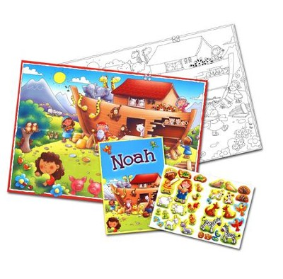Noah - Activity Pack  -     By: Juliet David