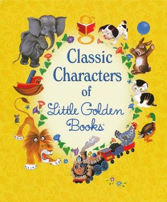 Classic Characters of Little Golden Books, Boxed Set  -