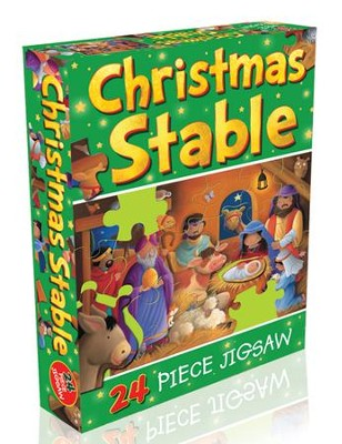 Christmas Stable Jigsaw  -     By: Juliet David