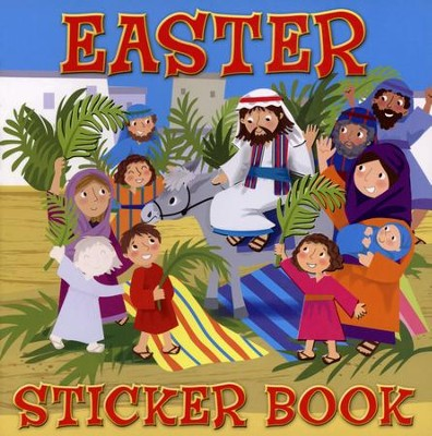 Easter Sticker Book  -     By: Karen Williamson