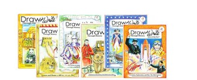Draw and Write Through History Volumes 1-6   -     By: Carylee Gressman