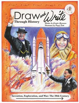 Draw and Write Through History 6 Invention, Exploration, & War   -     By: Carylee Gressman