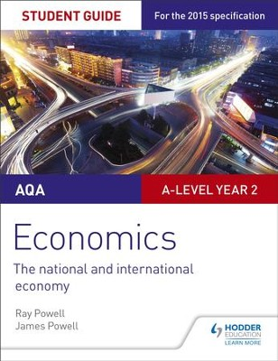 AQA A-level Economics Student Guide 4: The national and international economy / Digital original - eBook  -     By: Ray Powell, James Powell