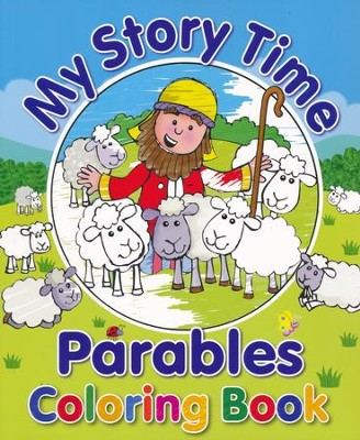 My Story Time Parables Coloring Book  -     By: Juliet David