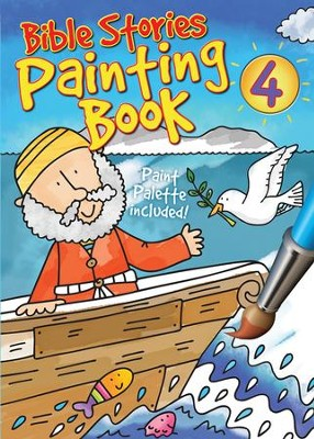 Bible Stories Painting Book 4  -     By: Juliet David, Simon Abbott
