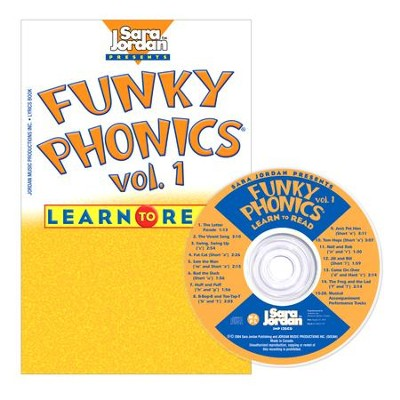 Funky Phonics: Learn to Read Volume 1 CD/Book Kit  -     By: Sara Jordan