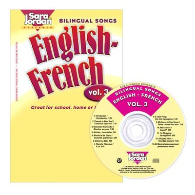 Bilingual Songs: English-French CD/Book Kit Volume 3  -     By: Sara Jordan