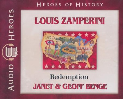 Louis Zamperini: Redemption audiobook on CD   -     Narrated By: Tim Gregory     By: Janet Benge, Geoff Benge