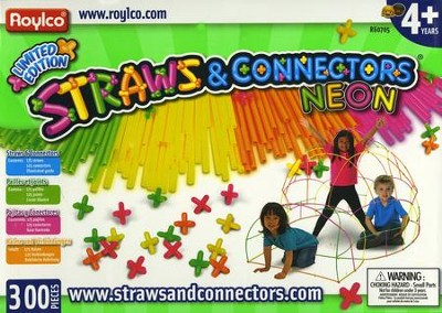 Neon Straws and Connectors   -