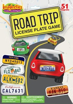 Imaginetics, Road Trip License Plate Game  -