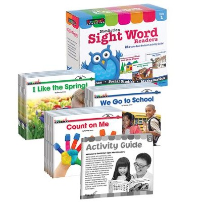 Nonfiction Sight Word Readers Set 1   -