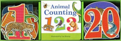 Animal Counting Book & Learning Play Set  -     By: Lee Krutop