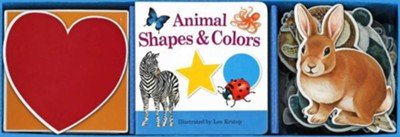 Animal Shapes & Colors Book & Learning Play Set  -     By: Lee Krutop