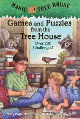 Magic Tree House: Games and Puzzles from the Tree House  -     By: Mary Pope Osborne, Natalie Pope Boyce     Illustrated By: Sal Murdocca