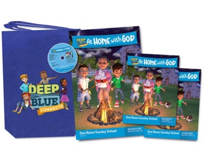 Deep Blue: One Room Sunday School Kit, Winter 2018-19  -