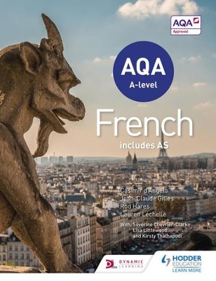 AQA A-level French (includes AS) / Digital original - eBook  -     By: Casimir d'Angelo, Rod Hares, Jean-Claude Gilles