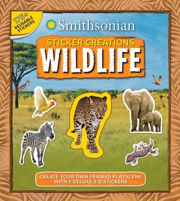 Smithsonian Sticker Creations: Wildlife  -     By: Kaitlyn DiPerna